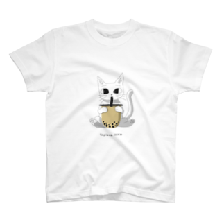 ohutonのtapioca neco T-shirts