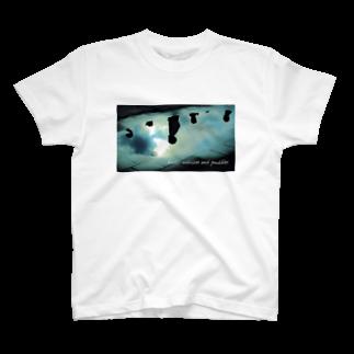フォトモアのラジオ体操と水たまり T-shirts
