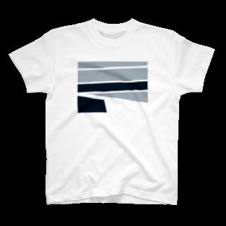 mashibuchiのシンプルずけい T-shirts