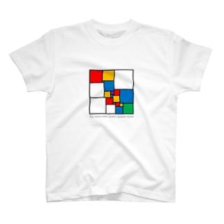 正方形分割 T-shirts