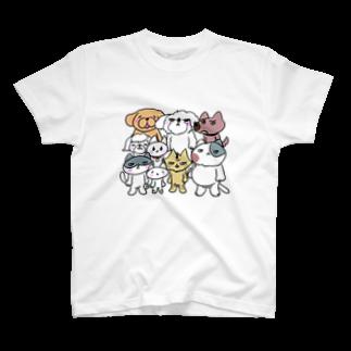 喜多桐スズメのノラども T-shirts