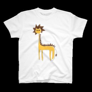 フクダナゴの長いライオン T-shirts