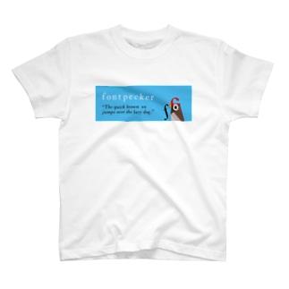 fontpecker T-shirts
