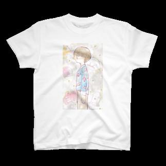 onakaippaiの海洋生物とパジャマくん T-shirts