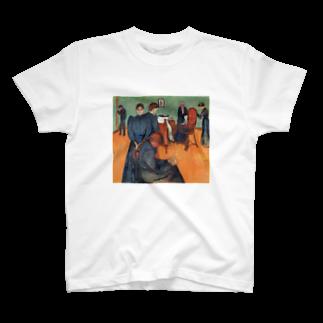 Art Baseのムンク / 病室での死 / Death in the sickroom / Edvard Munch/1893 T-shirts