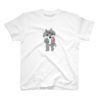 ネムキツネちゃん夏仕様 T-shirts
