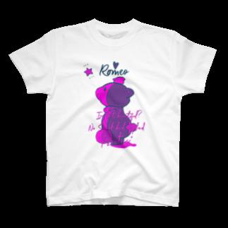 SHOP ROMEO のRomeo kuma-chan pink T-shirts