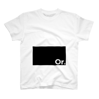 Or.のOr.ロゴ T-shirts