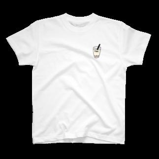 Eatn-kkのタピオカ T-shirts