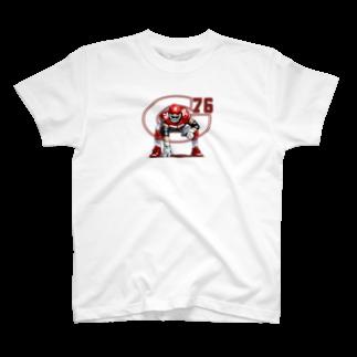HATAKTのG76赤 T-shirts