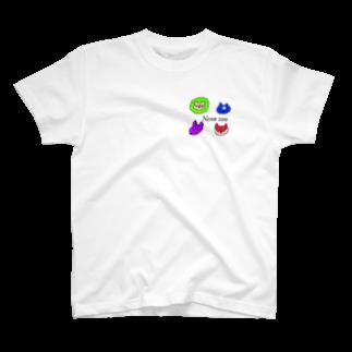 魔王店のneonzoo T-shirts