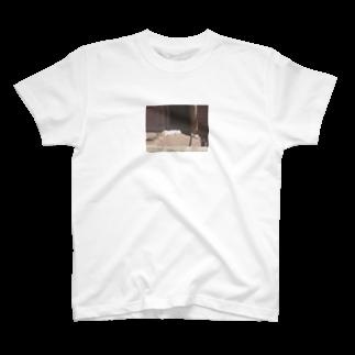 rumm_rummmのスヤスヤうさちゃん T-shirts