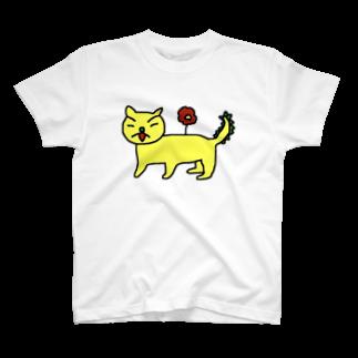 hha__m72のにゃんぬー T-shirts