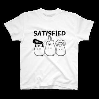Piso Store on Suzuriの満足ハムスター T-shirts