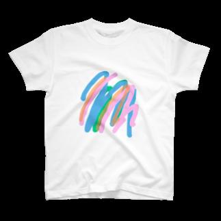 akitamiの虹虹 T-shirts