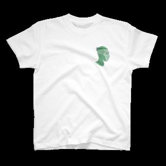ナカザワの緑の俺 T-shirts