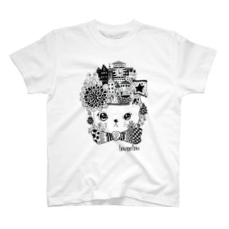 ぼうし街のにゃんこ T-shirts