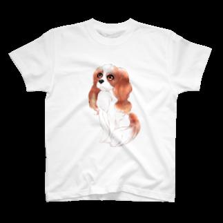 kiyoxのキャバリア犬なTシャツ T-shirts