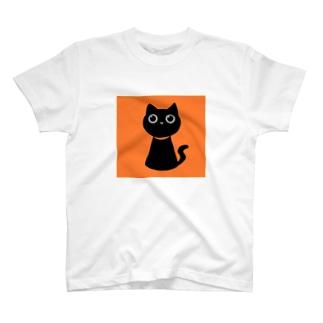 くろねこ T-shirts