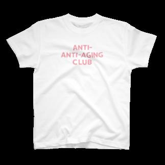 Kougyokuya NYCのANTI-ANTI-AGING CLUB T-shirts