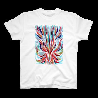 音楽工房田中(YouTuber,Music,Healing)の瀬織津姫 T-shirts