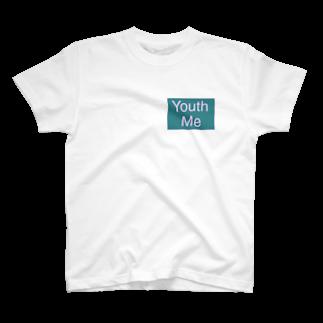 あんな♂のYouth Me(用済み)ロゴ T-shirts