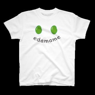 beef&strawberryのedamame T-shirts