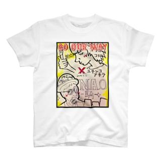 N.A.O-騎- × YUKINKO コラボTシャツ T-shirts