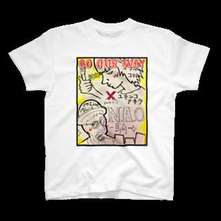Yukinko Akira factoryのN.A.O-騎- × YUKINKO コラボTシャツ T-shirts