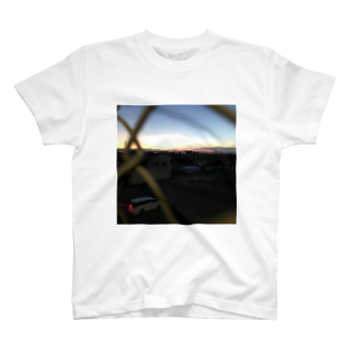 0__tktの田舎の夕焼け T-shirts
