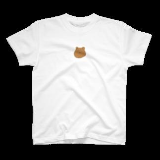 ライのくまちゃん(顔面) T-shirts