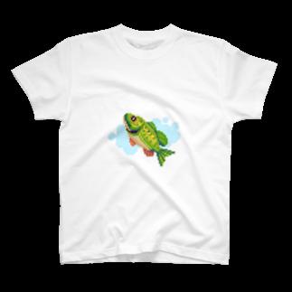notteのfish T-shirts