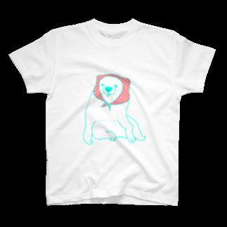 mugioのあの犬/ずきん T-shirts