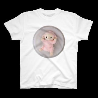 夢か現かの洗われるひつじちゃん T-shirts