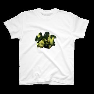 SHOP ICMTの私が作ったきゅうりの漬物です T-shirts
