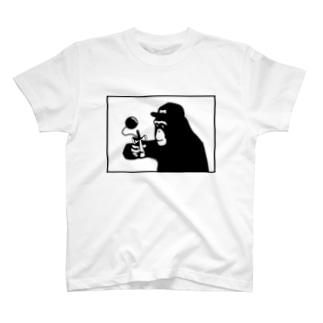 チンパンジー×けん玉 T-shirts