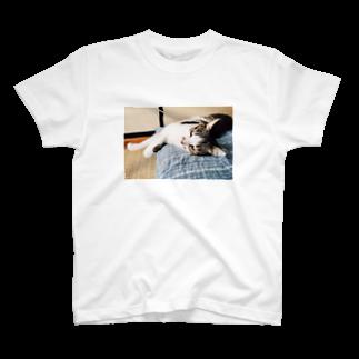 naoの目がビー玉な猫 T-shirts