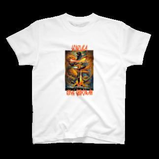 kuroryuryu0のゴジラ対キングギドラ T-shirts