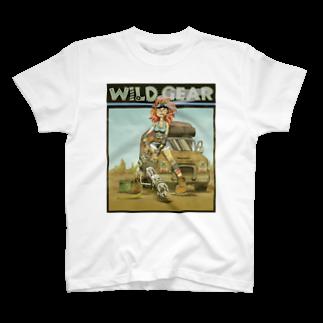 nidan-illustrationのWILD GEAR T-shirts