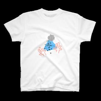 カラフルをふふふと作る場所の帽子贈呈のグッズ T-shirts