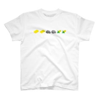 金金石石コーンコーン T-shirts