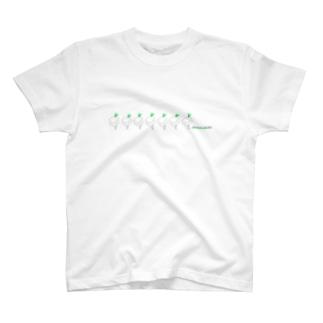 だいこんじじぃ歩く T-shirts