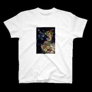 ✡️の自然の神様と荒廃した地球と。 T-shirts