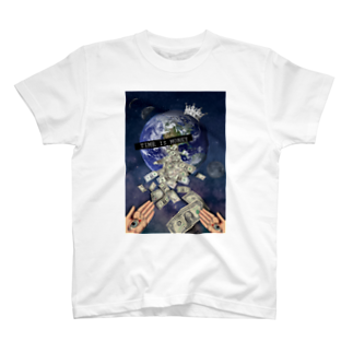 ✡️のTIME IS MONEY T-shirts
