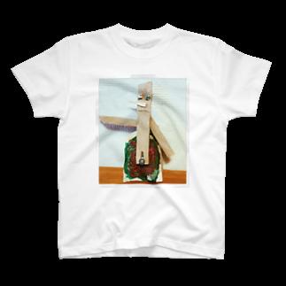 HaruKajikawaのでくのぼう T-shirts