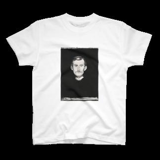 Art Baseのムンク / 1896 / Self-Portrait I / Edvard Munch T-shirts