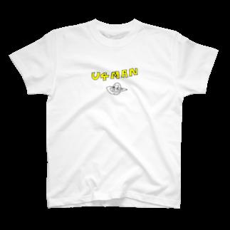 トシヤマダ・グラフィティのU4MAN T-shirts