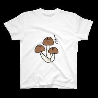 hagiKIRIEのしめじ T-shirts