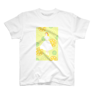 Pretty! showcase@SUZURI/まつもとめいこのハツコイソルベ T-shirts