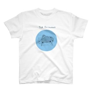 フリズアム一族blue T-shirts